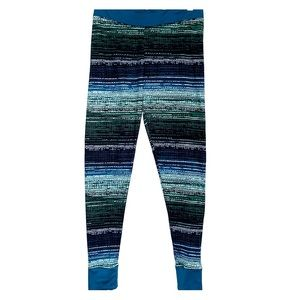 CUDDL DUDDS • Cozy Lounge Pajama Teal Stripe Pants